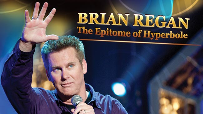 Book Clean Comedian Brian Regan