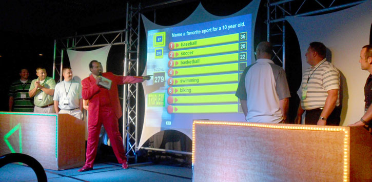 Corporate Game Show - Survey Says game show -Funny Business Agency