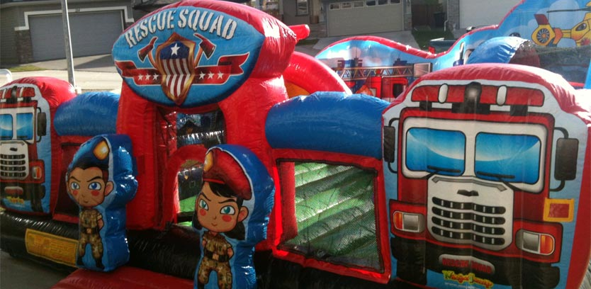 Rescue Squad Inflatable