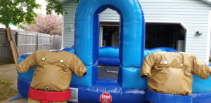 Sumo Suits Inflatable Company Picnic