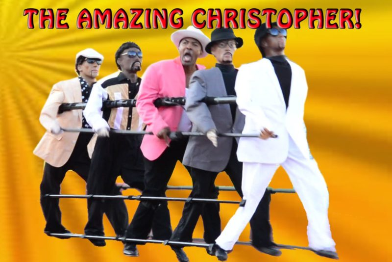 Hire The Amazing Christoper - Roving Entertainment