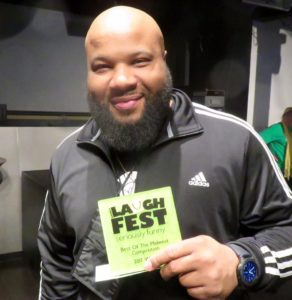 Comedian Mike Paramore Winner of LaughFest 2017's Best of the Midwest