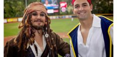 Roving Pirate Characters Captain Jack & Jake