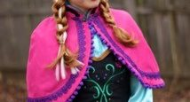 Anna, Sister from Frozen Roving Character