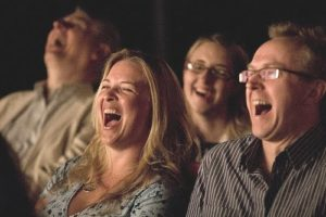 Laughing Audience - Comedy Show - Funny Business Agency
