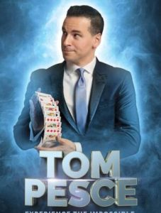 Tom Pesce - Corporate Magician Poser - Funny Business Agency