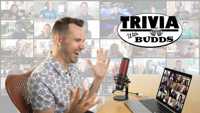 Trivia with Budds - Virtual Trivia - Funny Business Agency