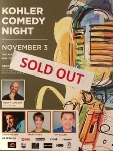 Comedy Weekend Sold Out - Funny Business Agency