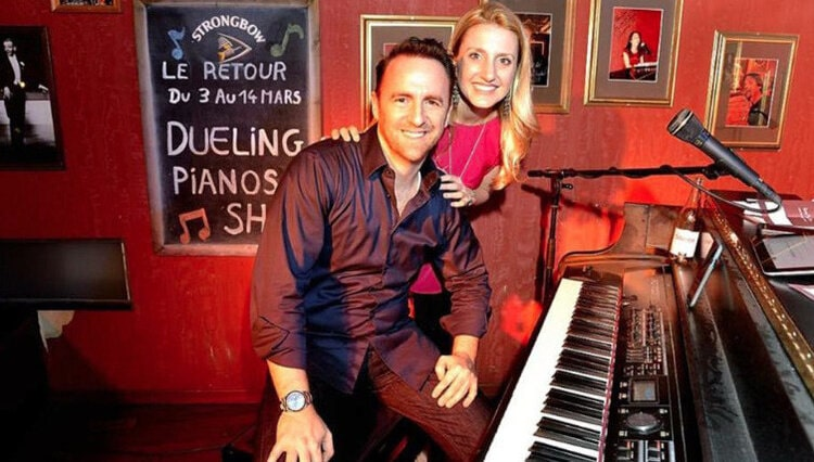 Virtual Dueling Pianos - Banner - Funny Business Agency